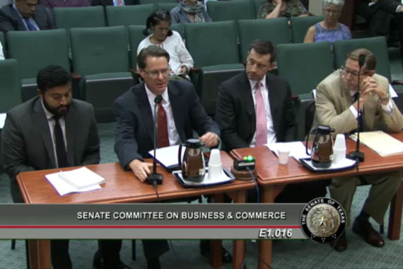 Dallas BA Testifies Before Senate Committee in Support of Fee Relief